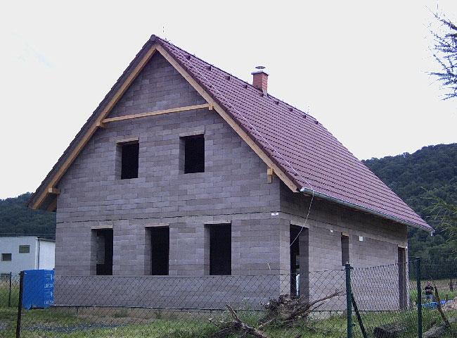 Rodinné domy stavebnice